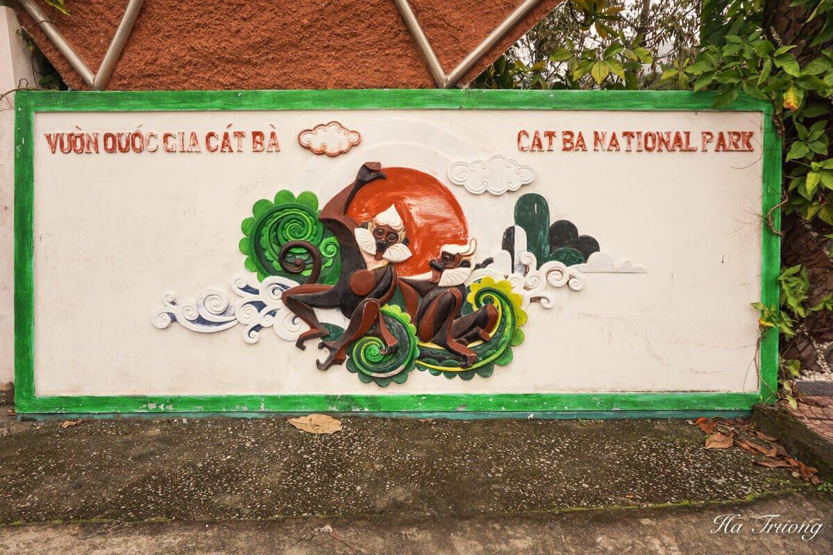 Cat Ba National Park Vietnam entrance