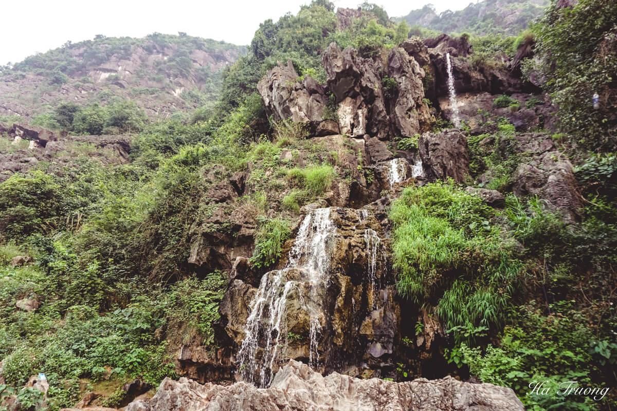 Mua Cave waterfall