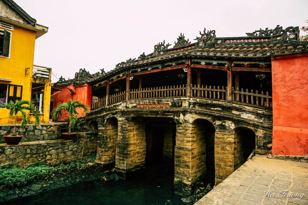 Japanese Covered Bridge Hoi An Vietnam