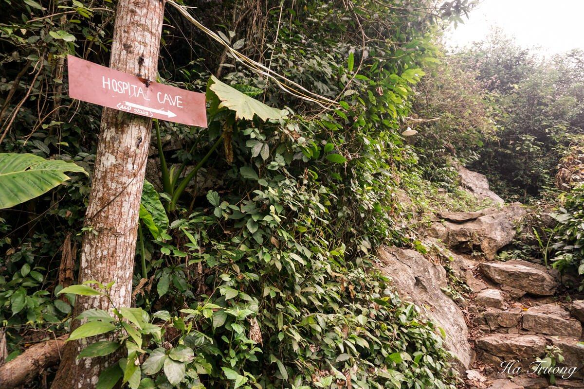 Hospital cave Vietnam guide