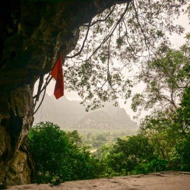 Hospital cave Cat Ba island Vietnam travel guide