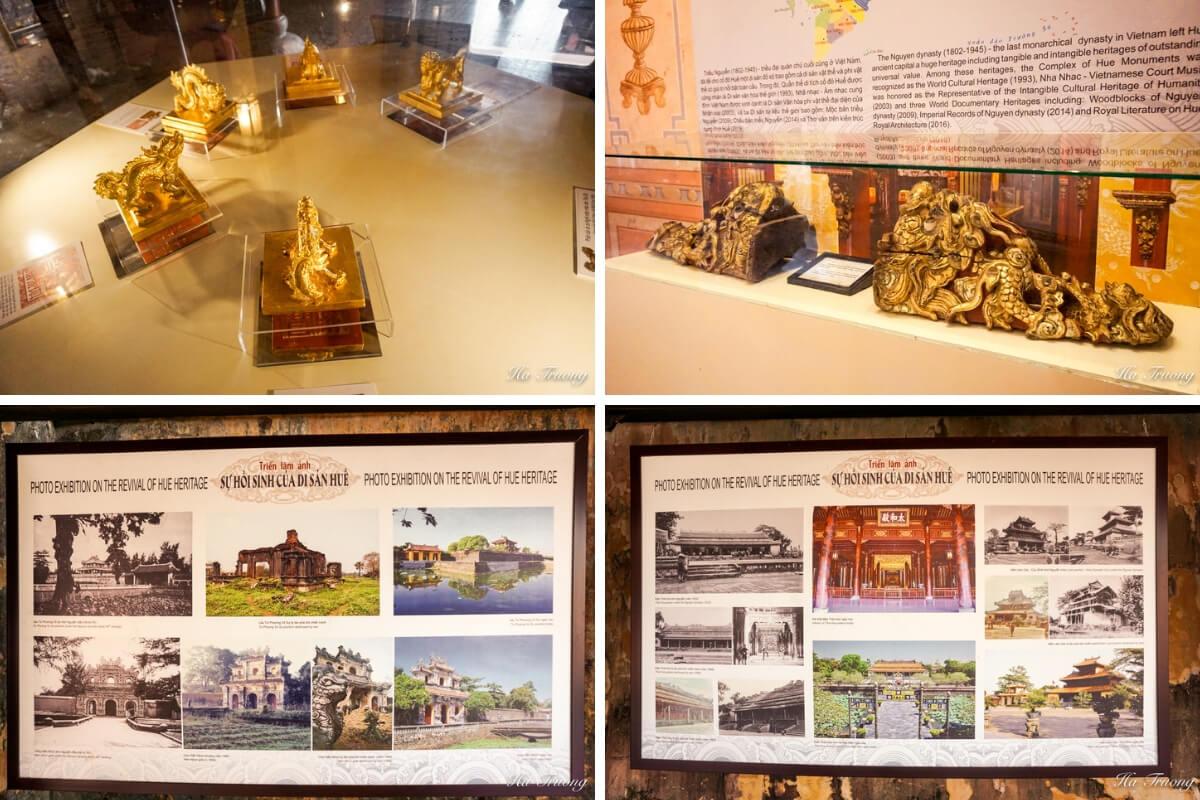artifacts in Hue Citadel Vietnam