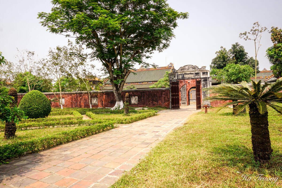 Hue Citadel royal garden
