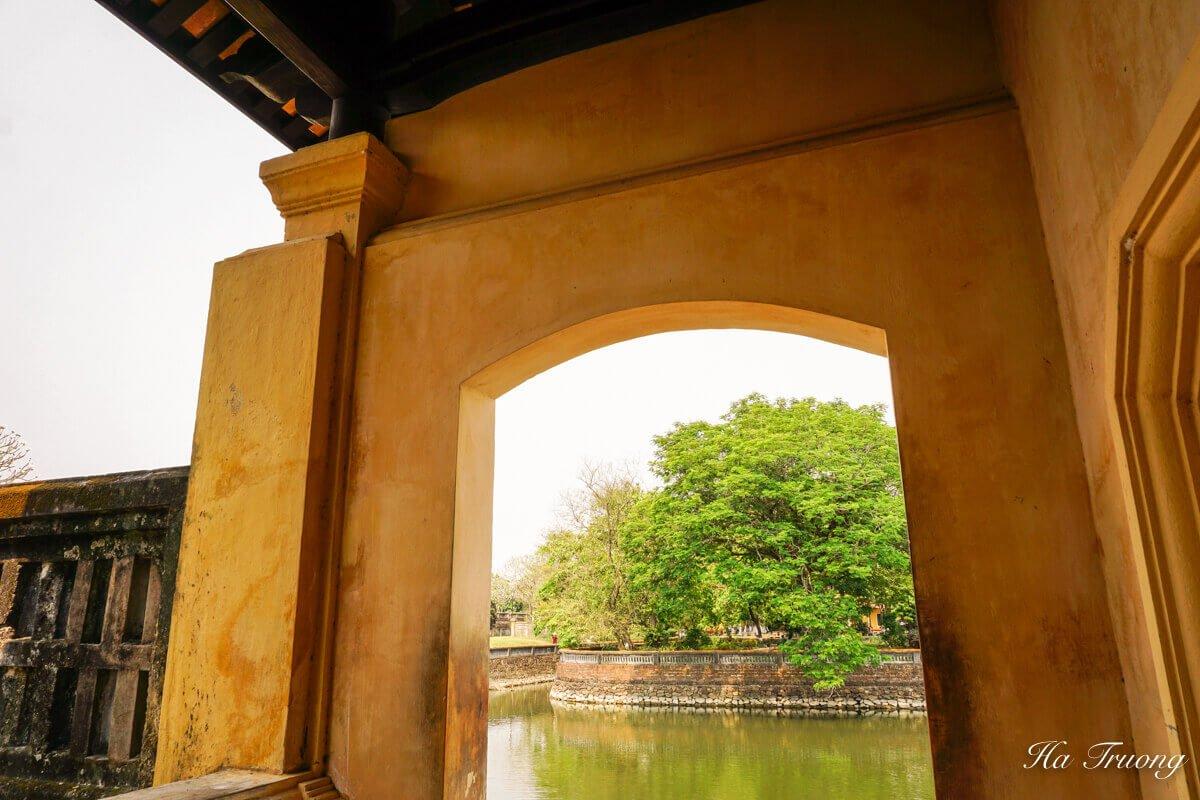Hue Imperial City Vietnam garden