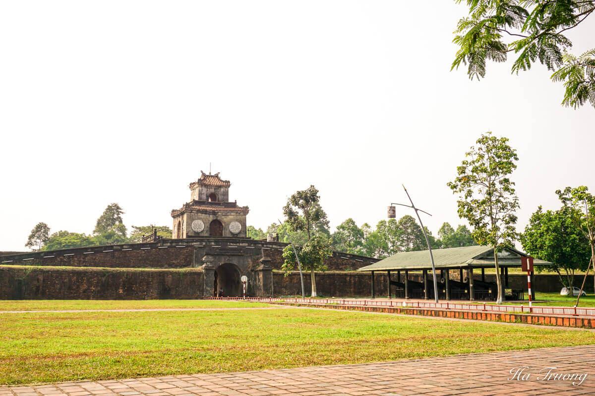 Hue Citadel Vietnam entrance gate