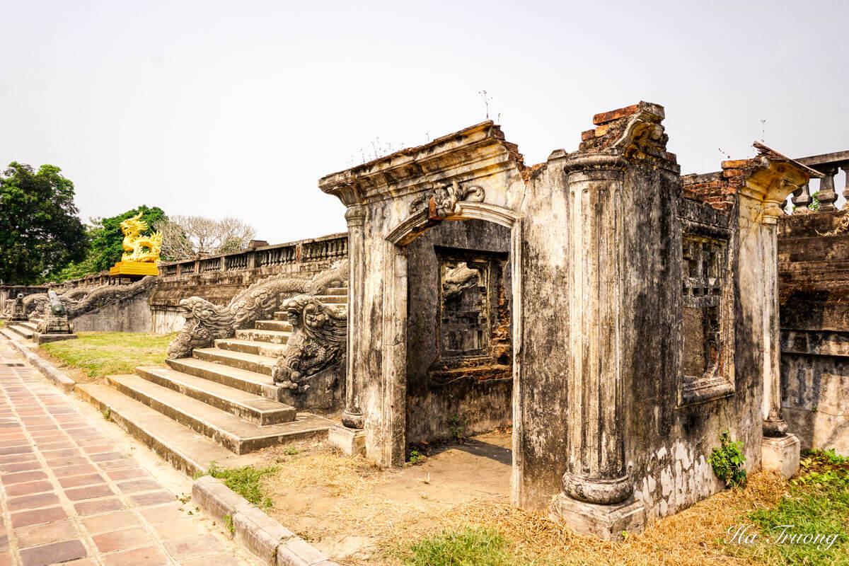 Hue Imperial Citadel Vietnam ruins