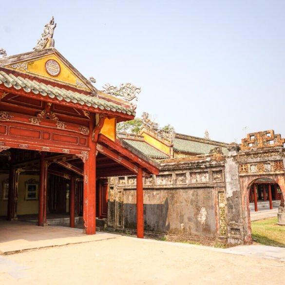 Ninh Binh to Hue Vietnam
