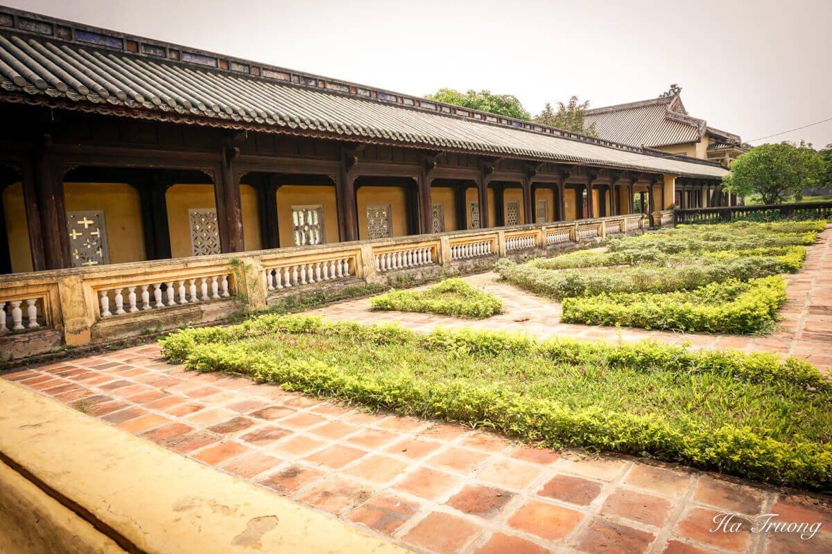 Hue Imperial City Vietnam wall