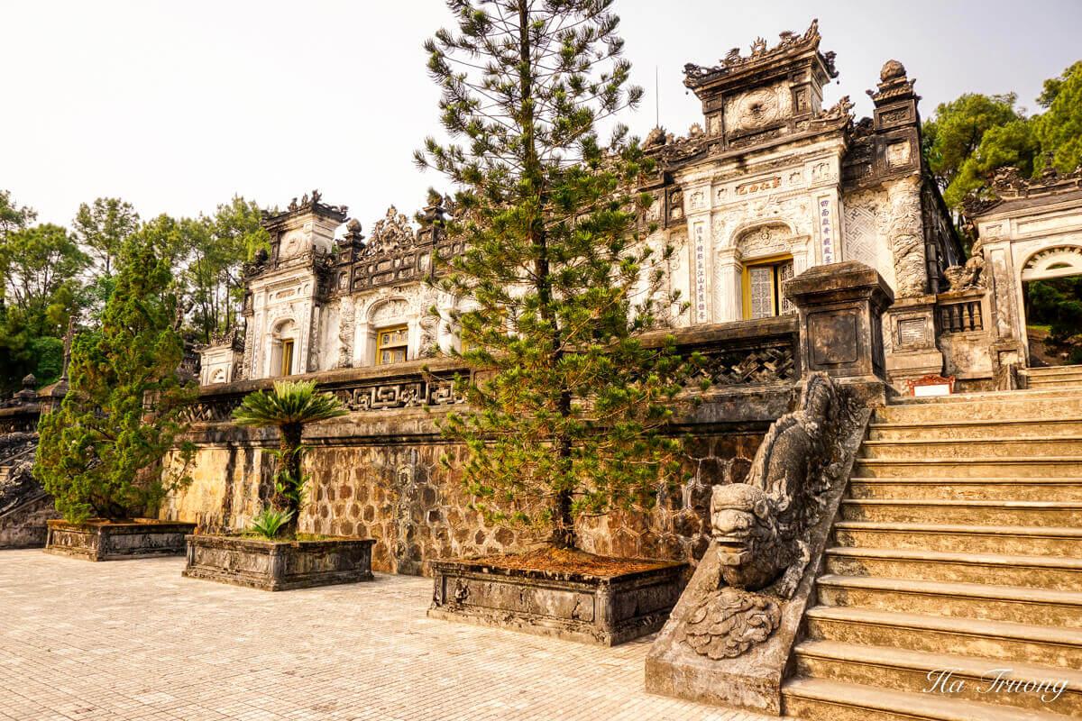 Khai Dinh tomb Hue Vietnam