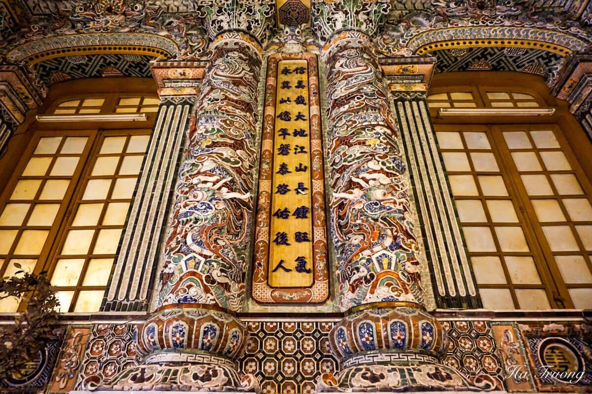 Khai Dinh tomb Vietnam architecture