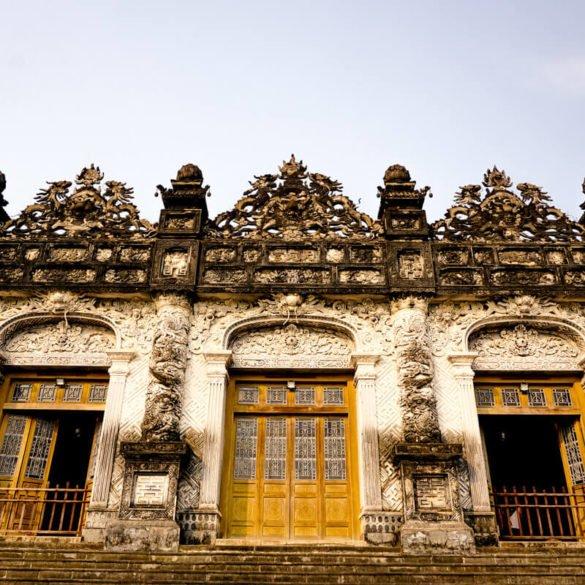 Khai Dinh tomb Vietnam building
