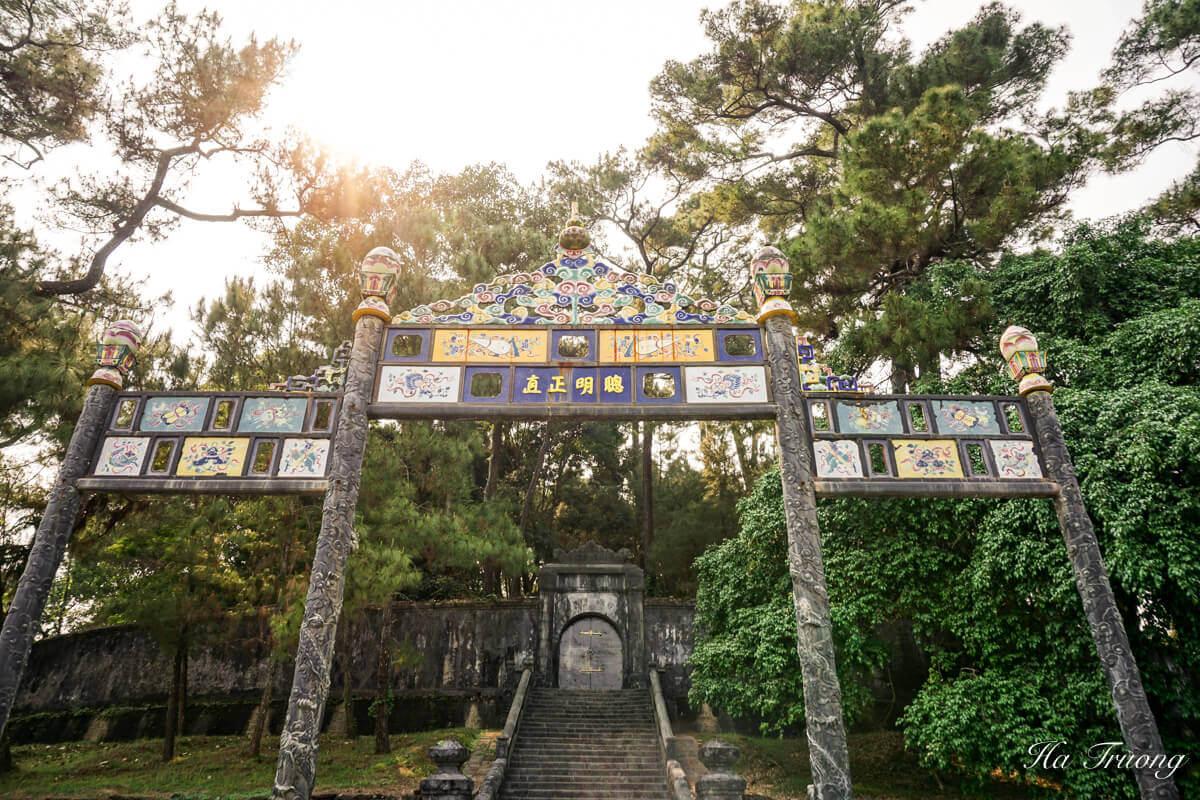 Minh Mang tomb Hue Vietnam