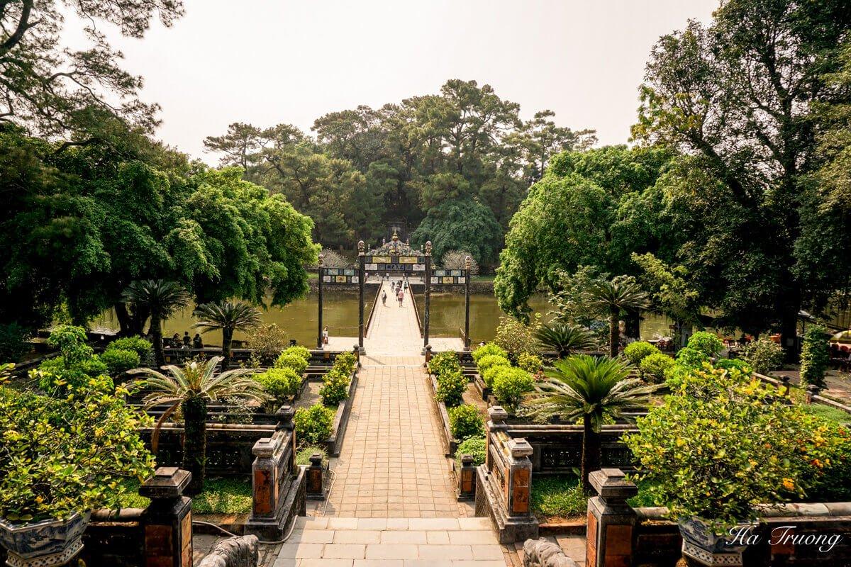 Minh Mang tomb Hue Vietnam travel guide