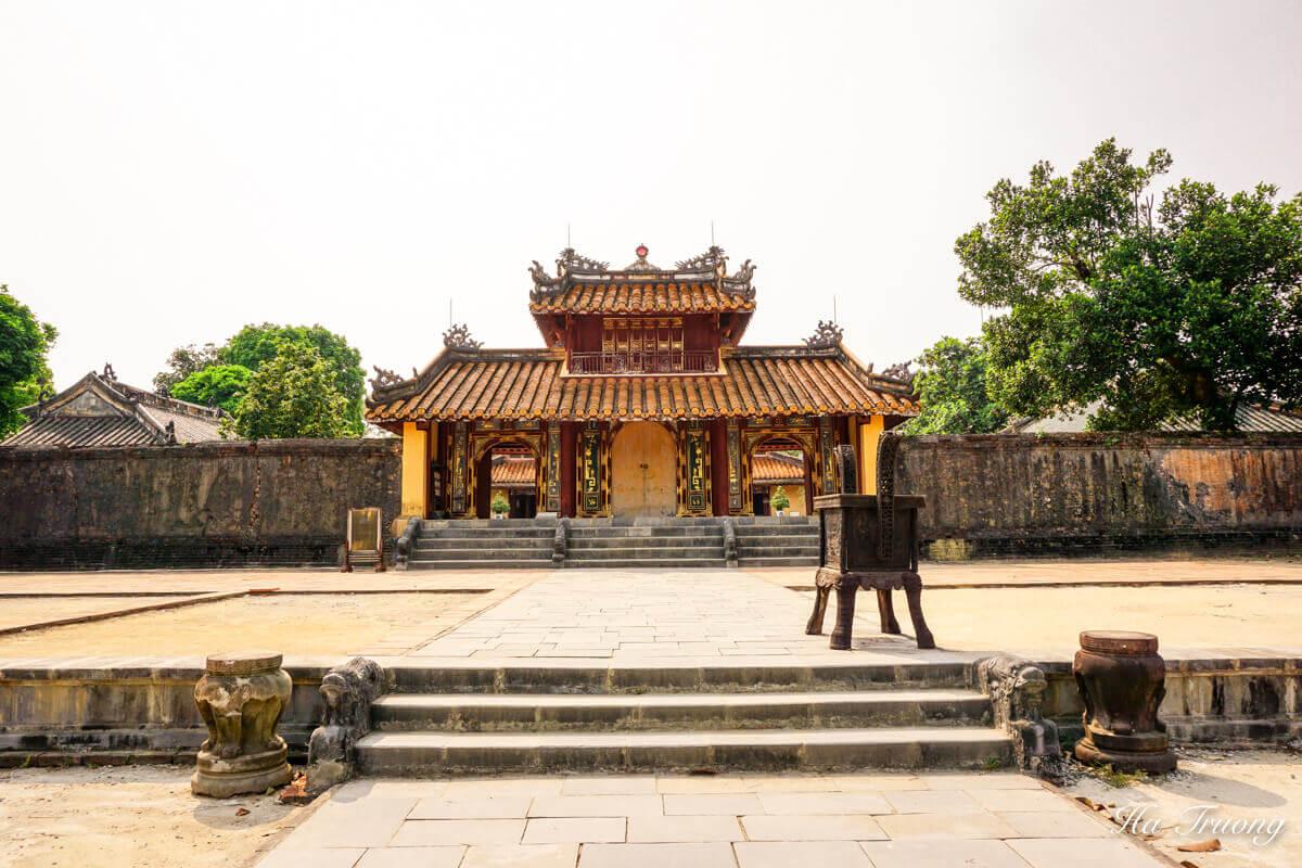 Minh Mang tomb Vietnam main gate