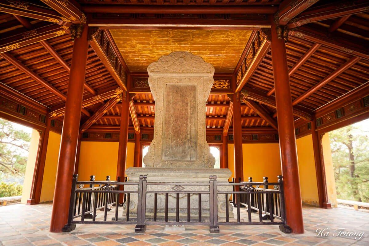 Minh Mang tomb Vietnam photo