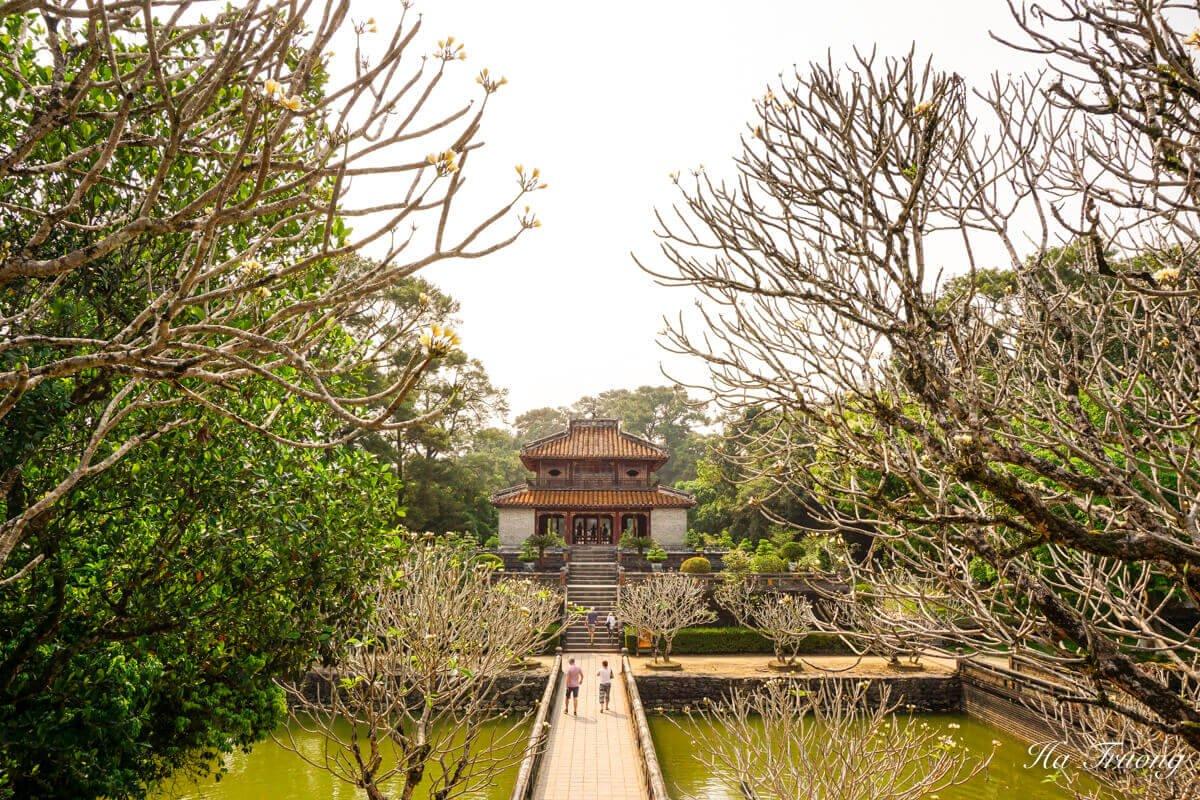 Minh Mang tomb Vietnam scenery