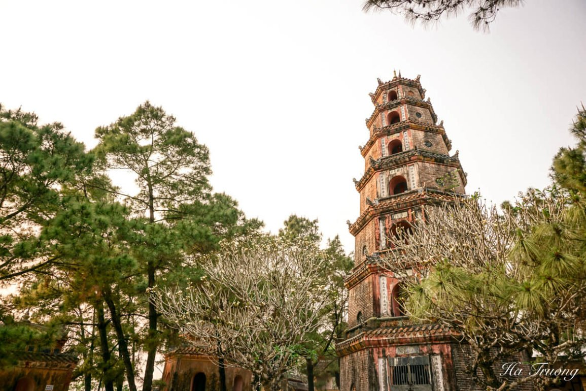 Thien Mu Pagoda of the Celestial Lady Hue Vietnam travel guide