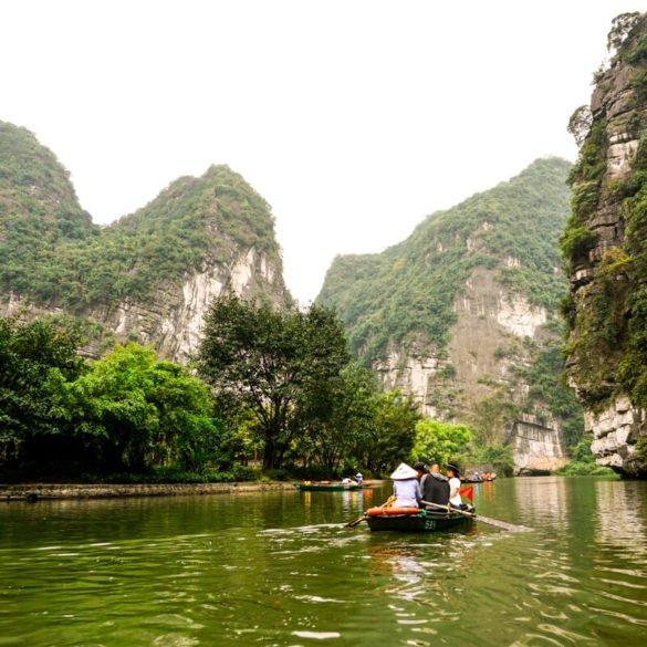 Trang An Ninh Binh day trip from Hanoi Vietnam