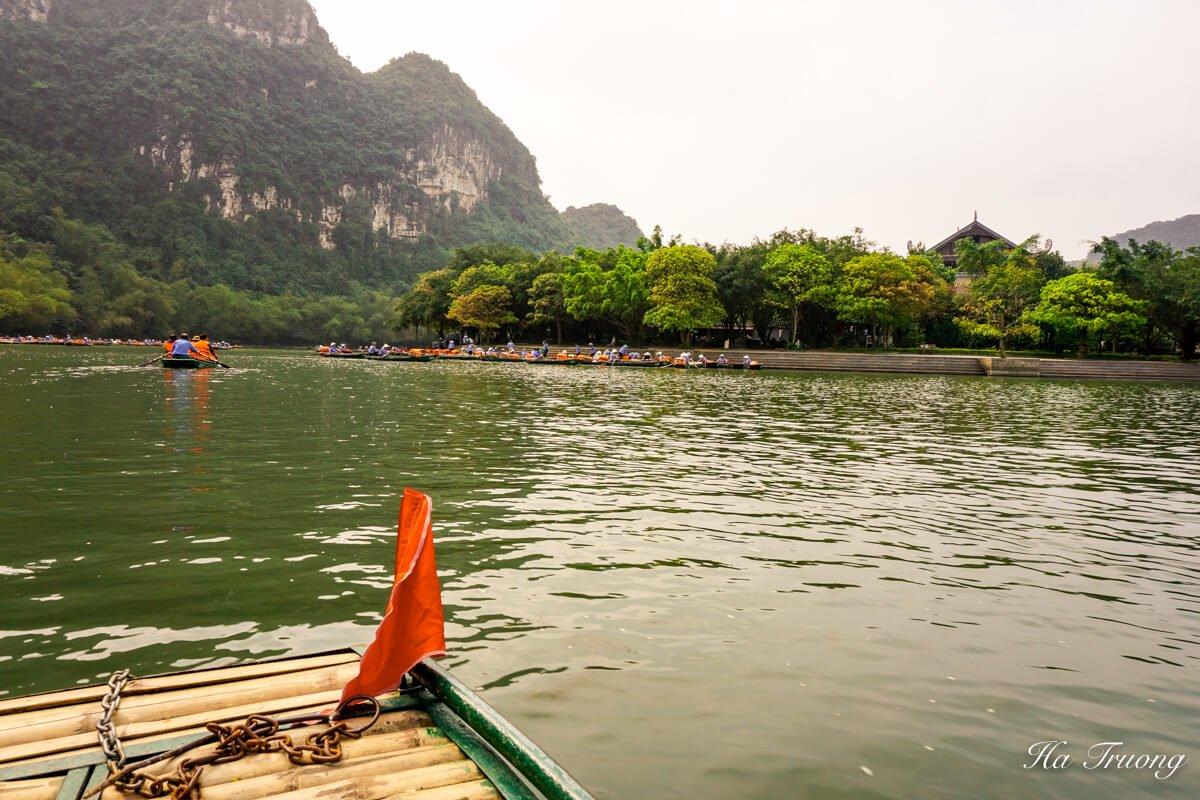 Trang An wharf