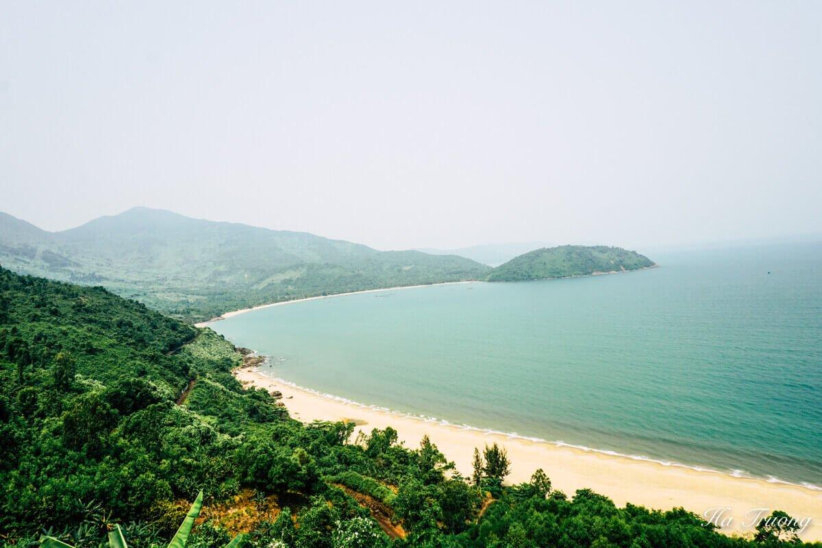 Da Nang coastline Vietnam