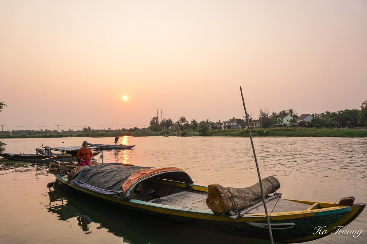 Hoi An Vietnam sunset
