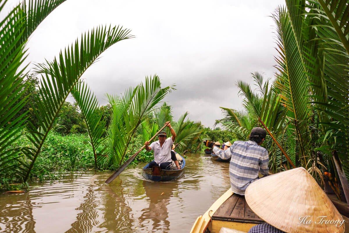 My Tho boat tour Vietnam Thoi Son islet boat tour