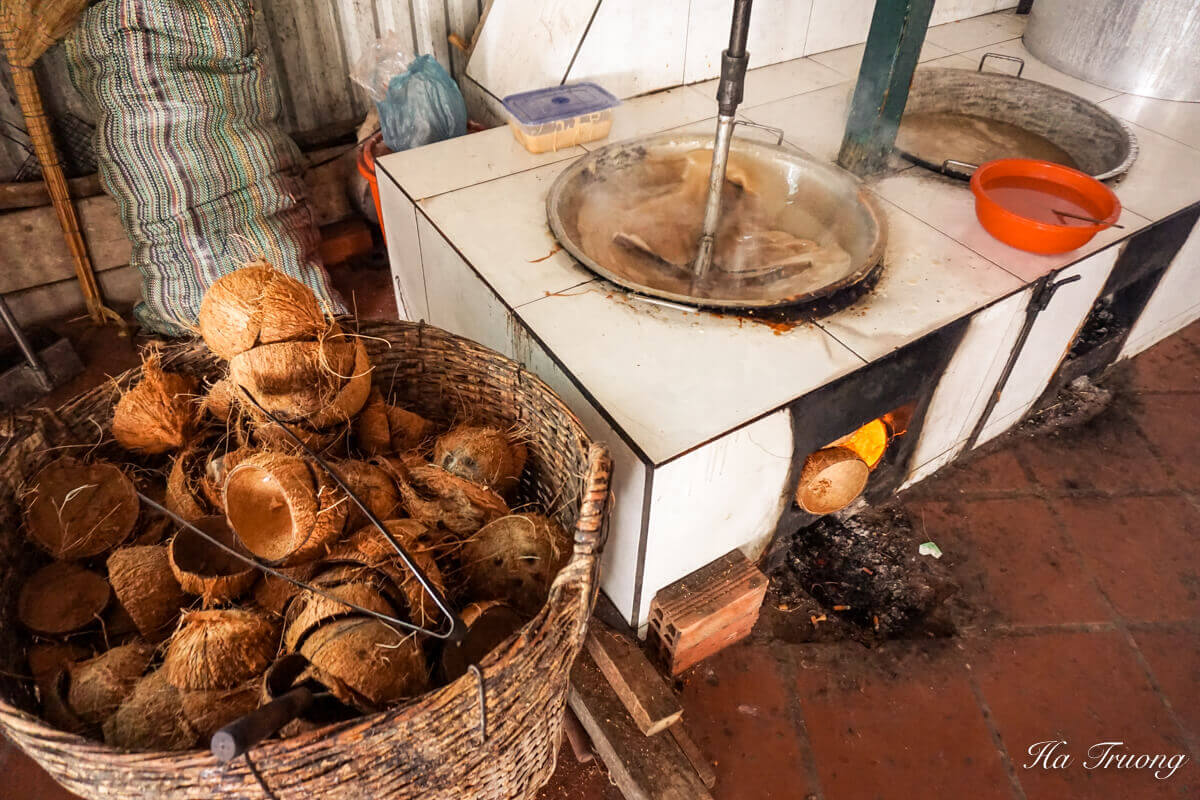 coconut candy Vietnam