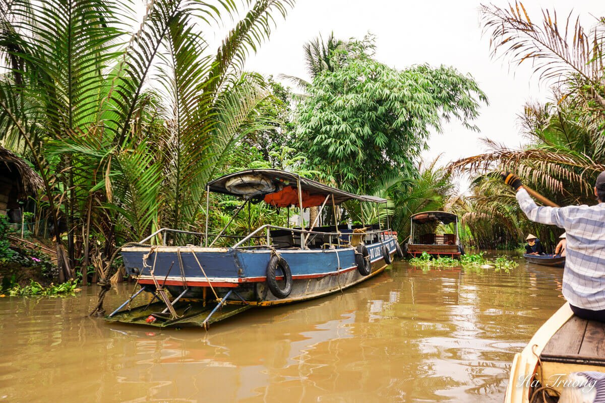My Tho boat tour Mekong Delta Vietnam