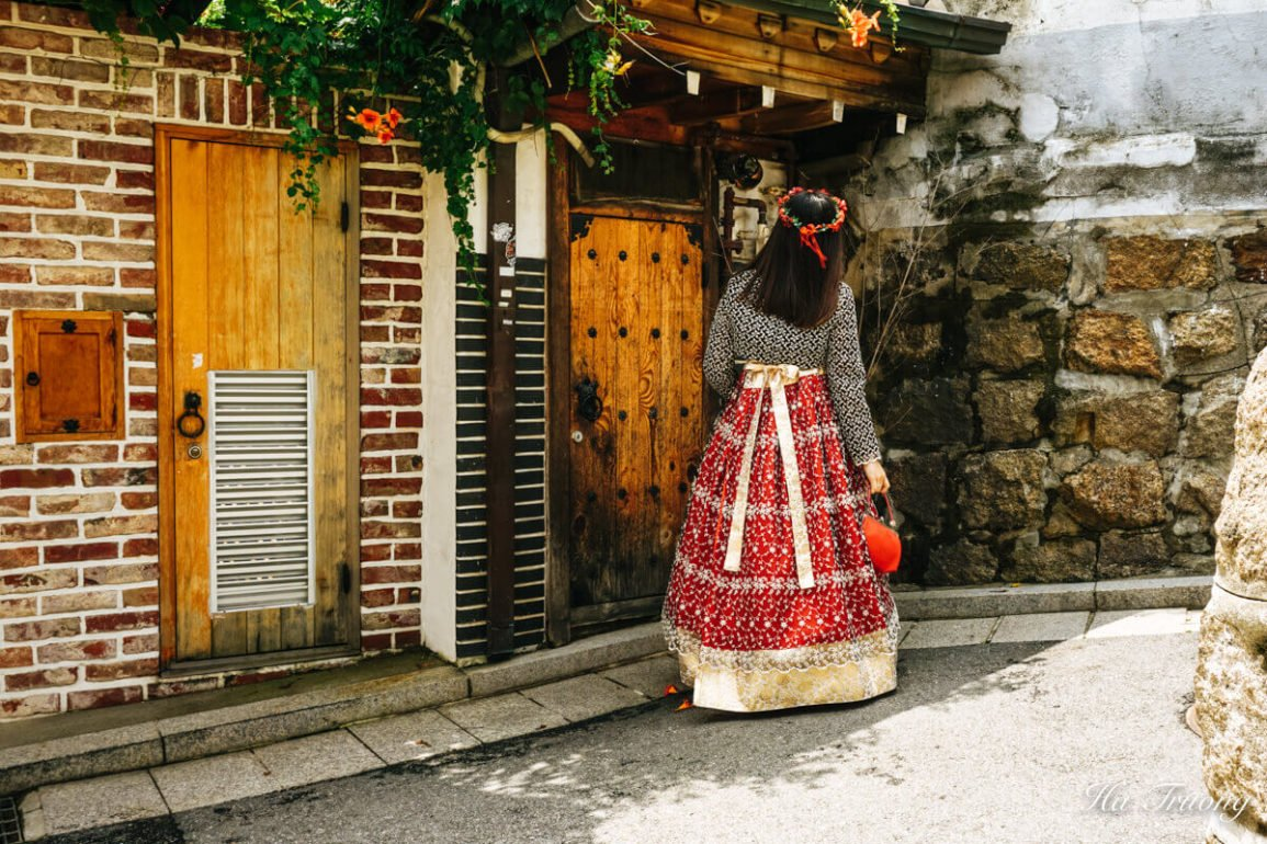 rent Hanbok in Seoul South Korea
