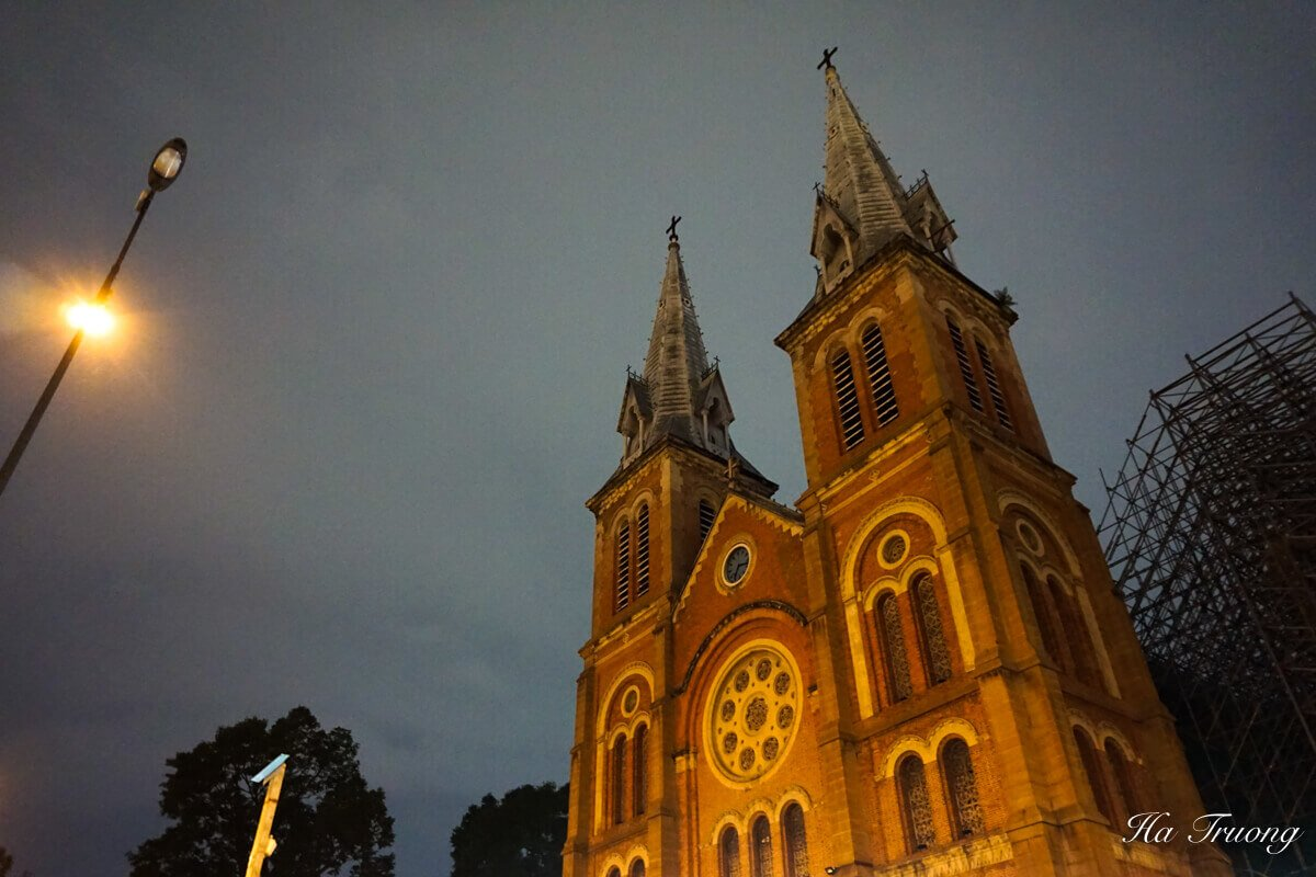 Cathedral Saigon Vietnam