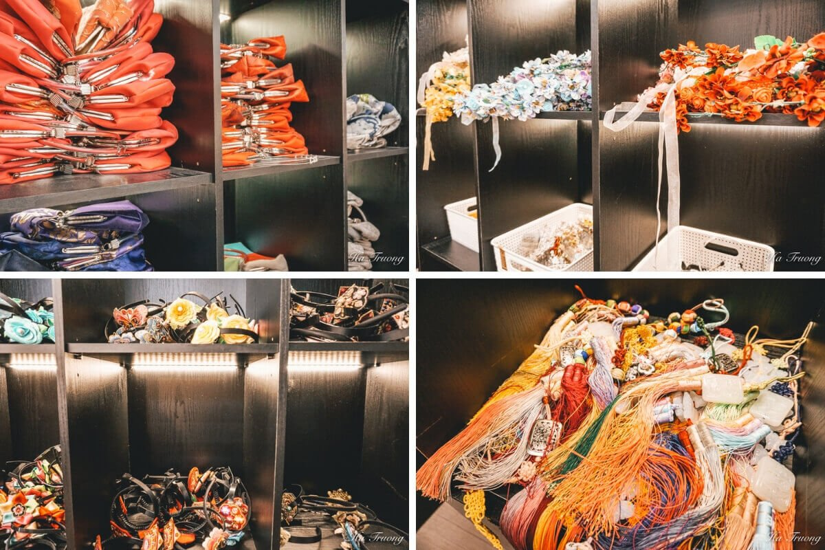 Hanbok rental accessories