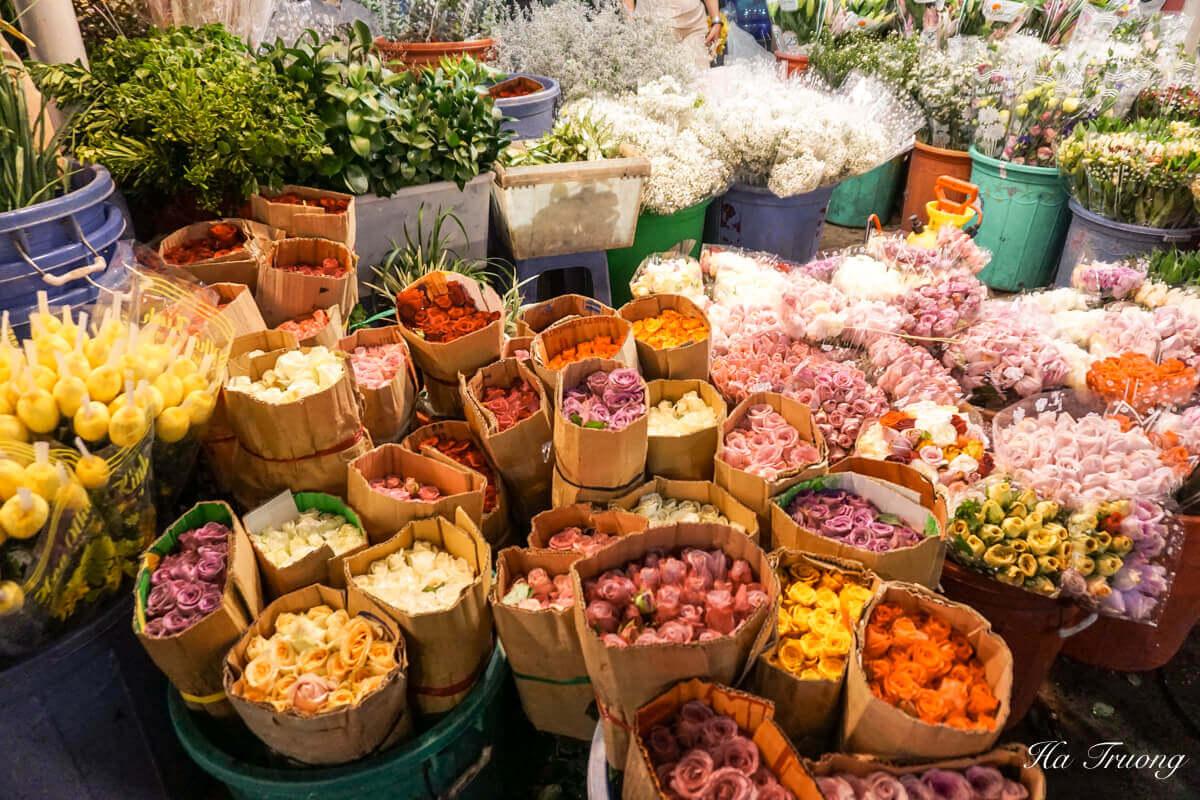 Ho Thi Ky Market Saigon Vietnam