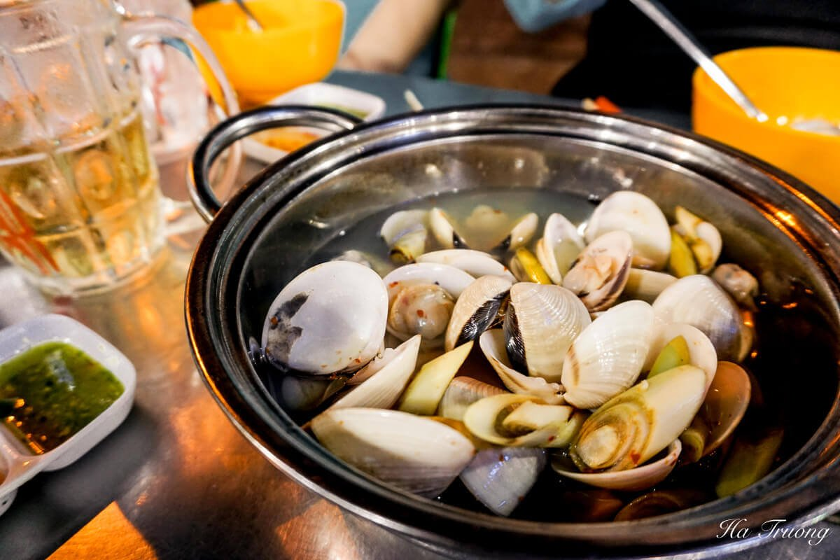 clams with lemon grass