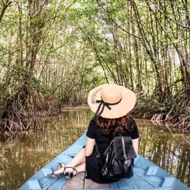 Can Gio Vietnam Mangrove Forest boat tour Vietnam