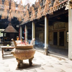 Thien Hau pagoda Saigon Vietnam