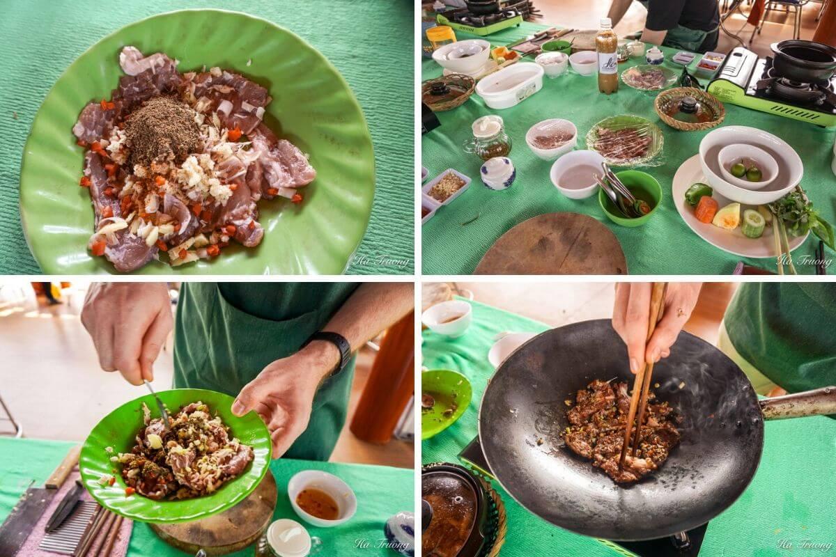 cooking class Saigon Vietnam