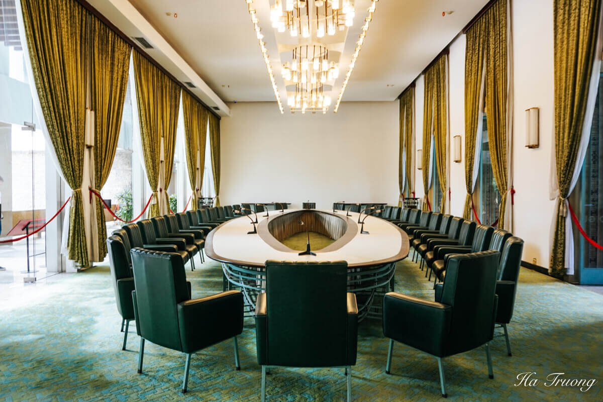 Independence Palace Saigon Vietnam meeting room