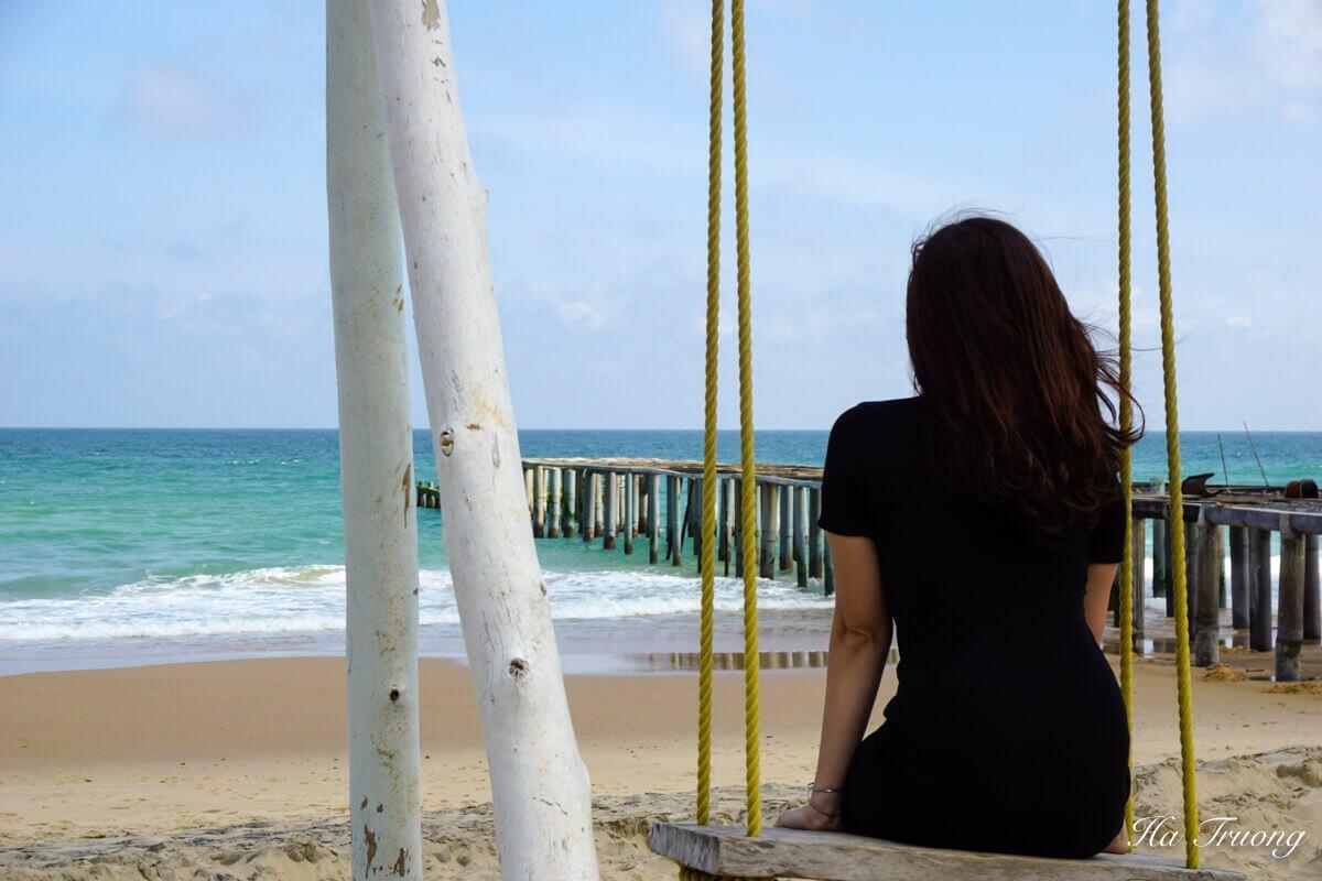 Ky Co beach Quy Nhon Vietnam