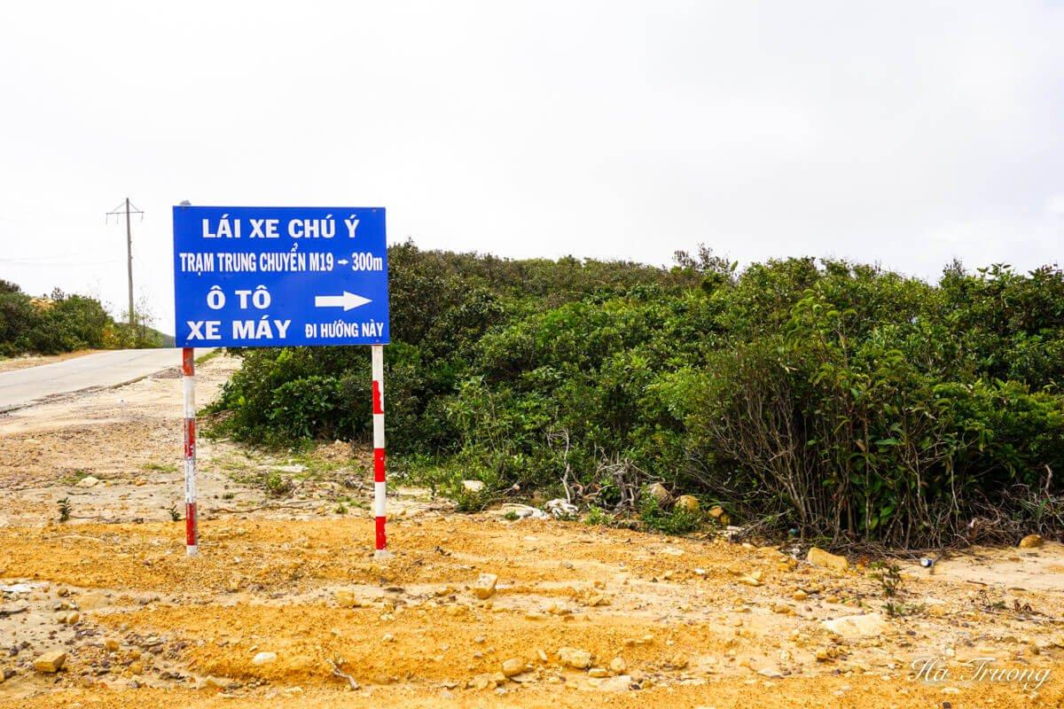 Ky Co road Quy Nhon Vietnam
