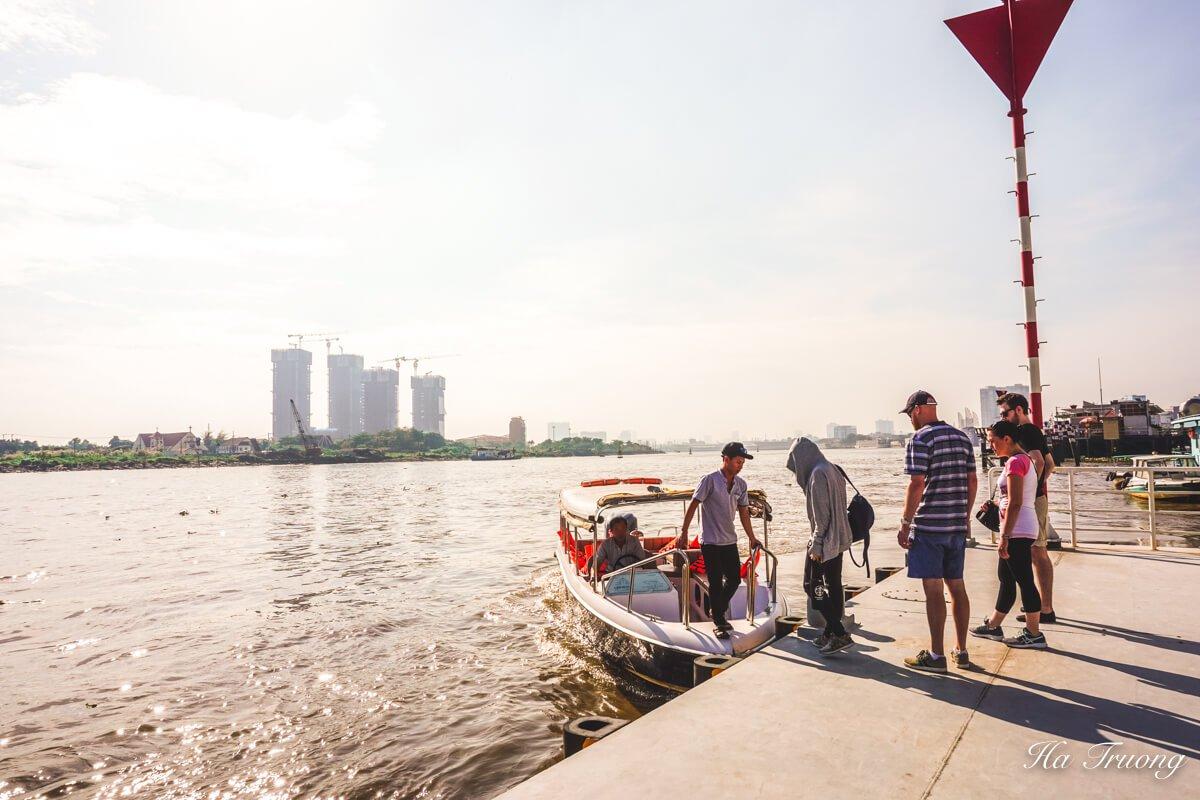 Les Rives boat tour Saigon Vietnam