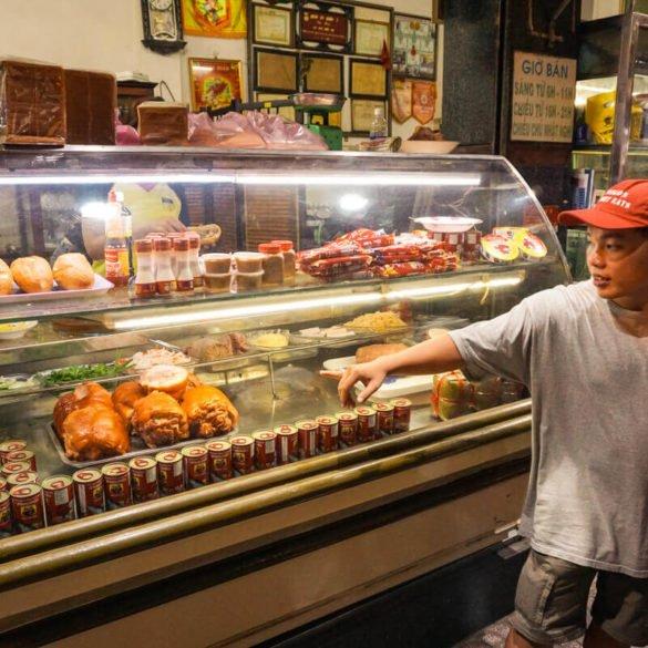 Saigon street eats tour Vietnam
