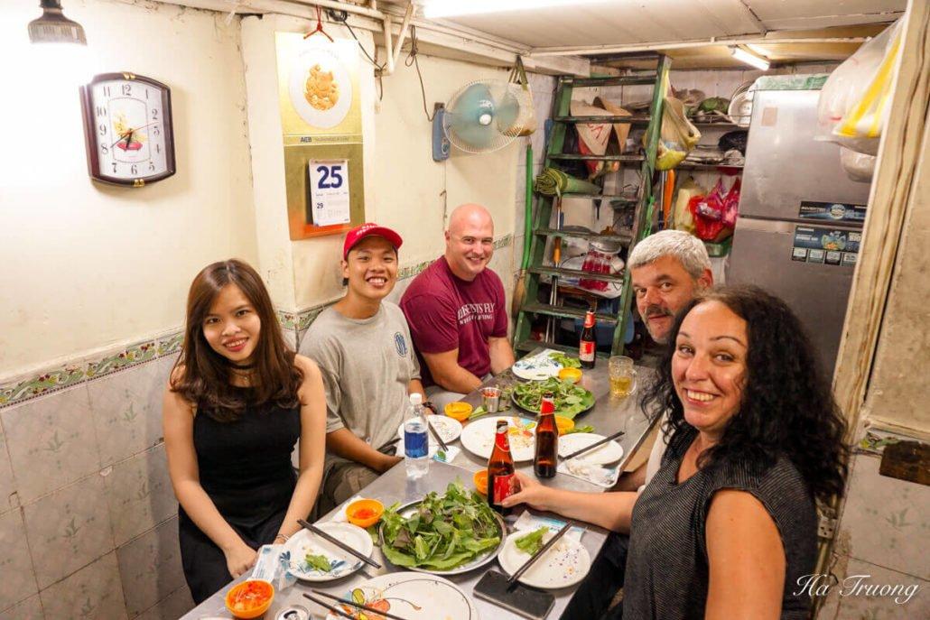 Saigon street eats tour