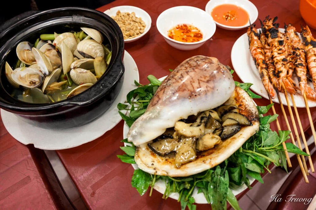 seafood Vietnamese food