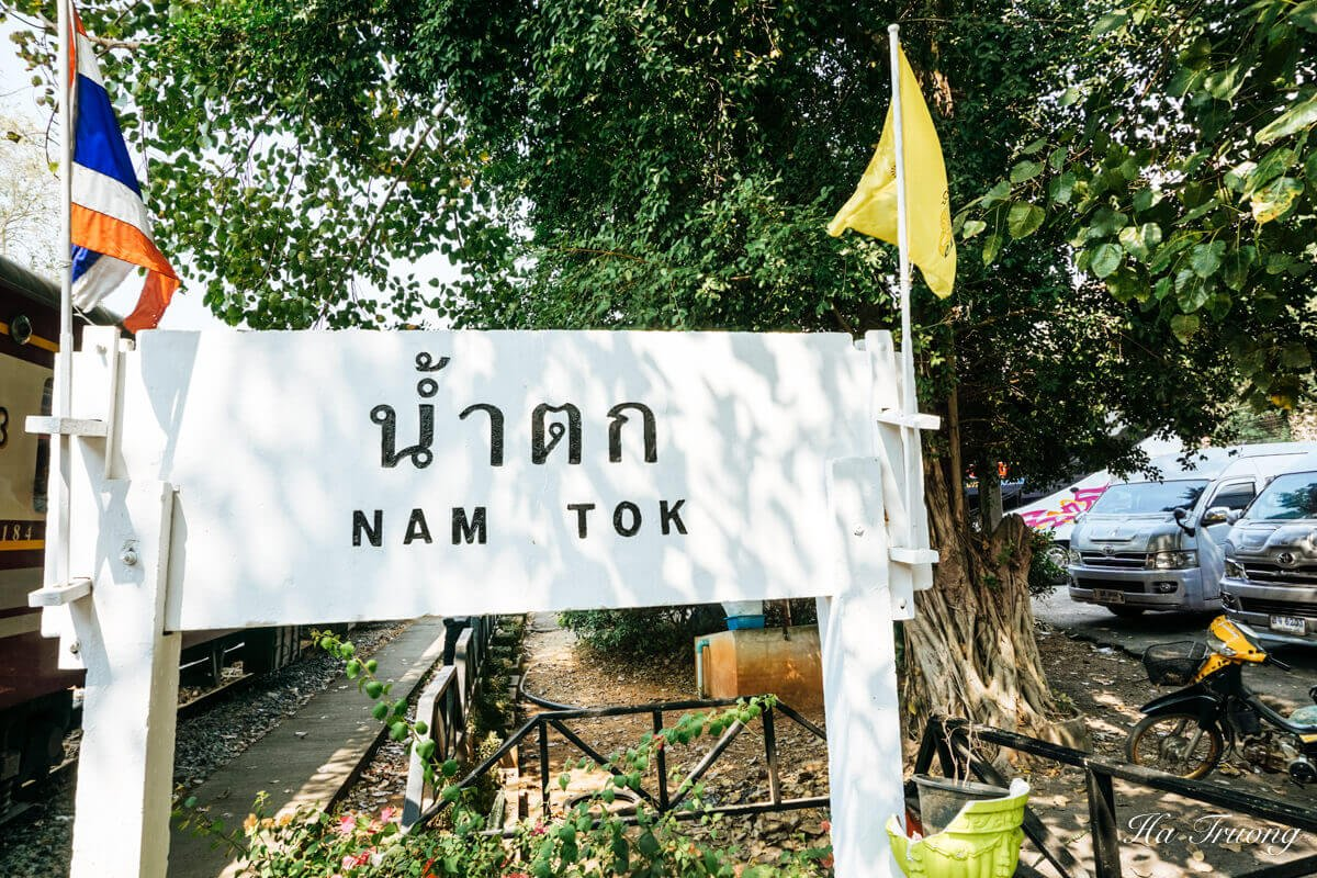 Namtok train station