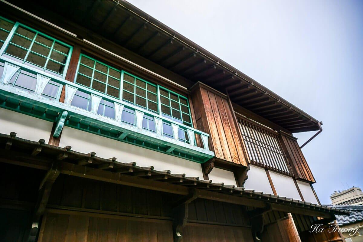 Dejima Japan architecture