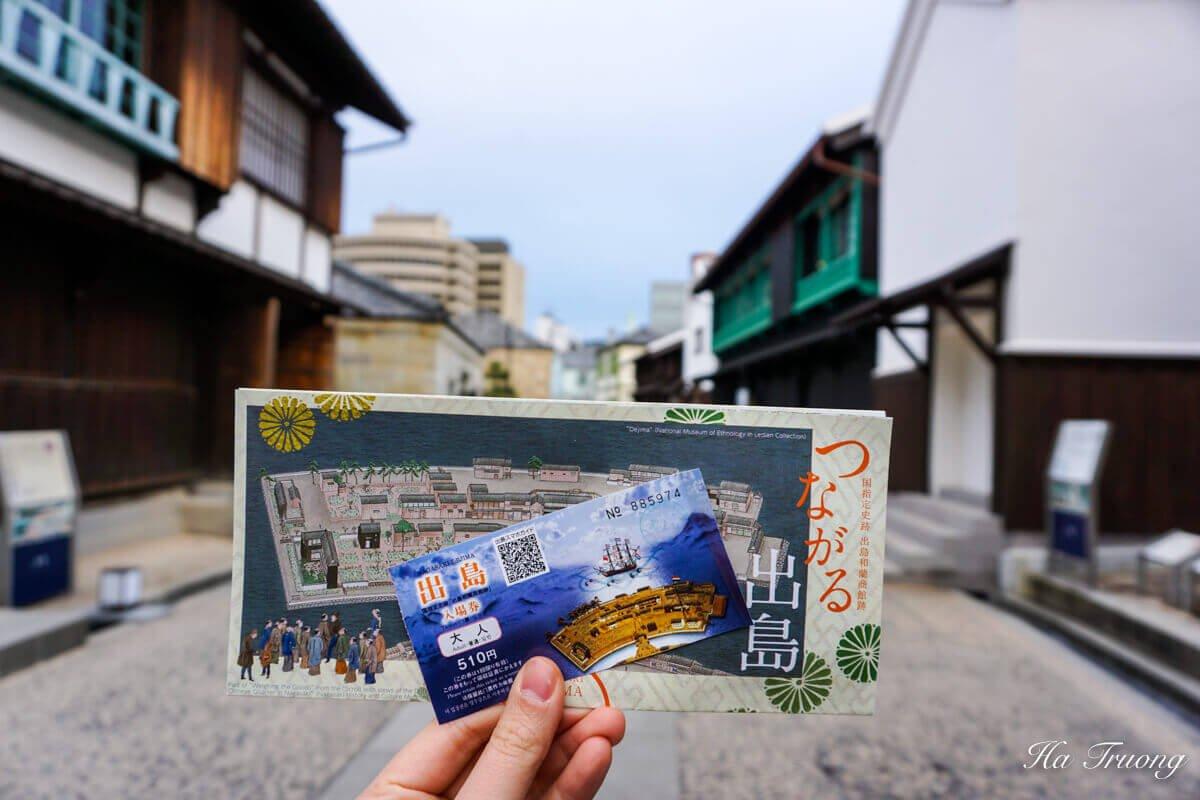 Dejima Japan ticket