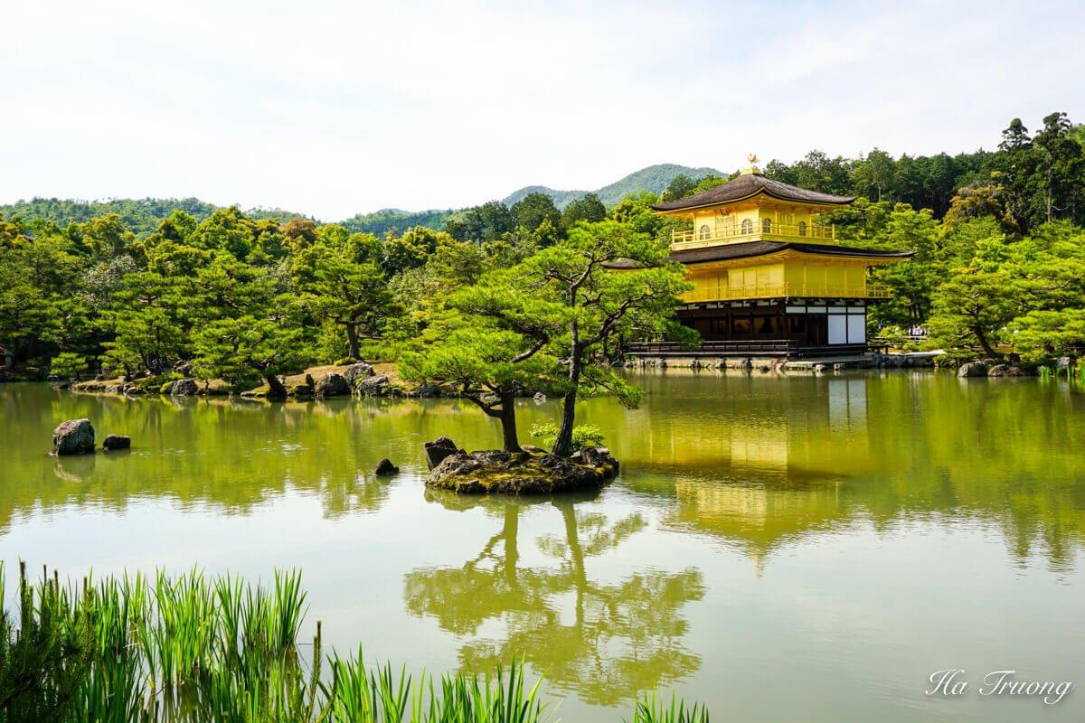 Golden Temple Kyoto Japan