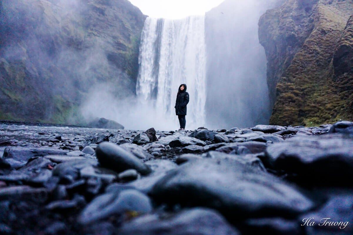 Iceland Skógafoss