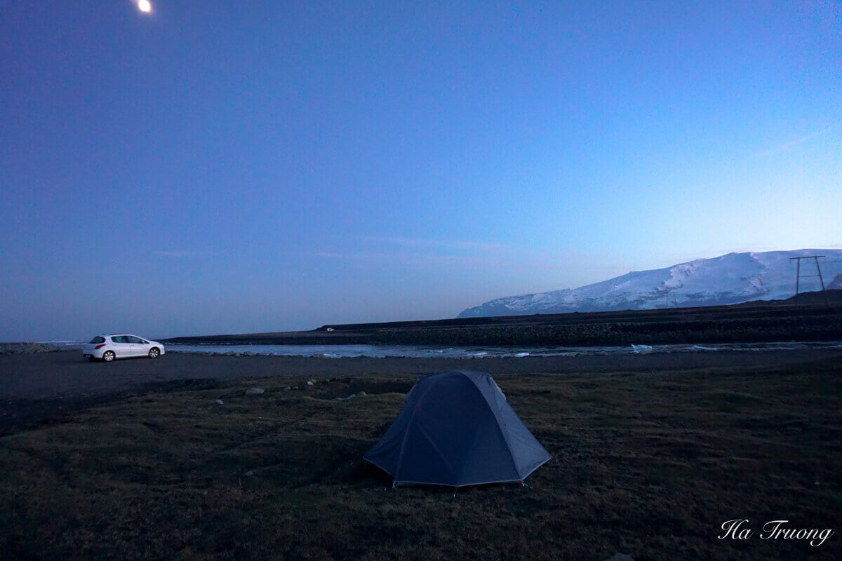Iceland camp