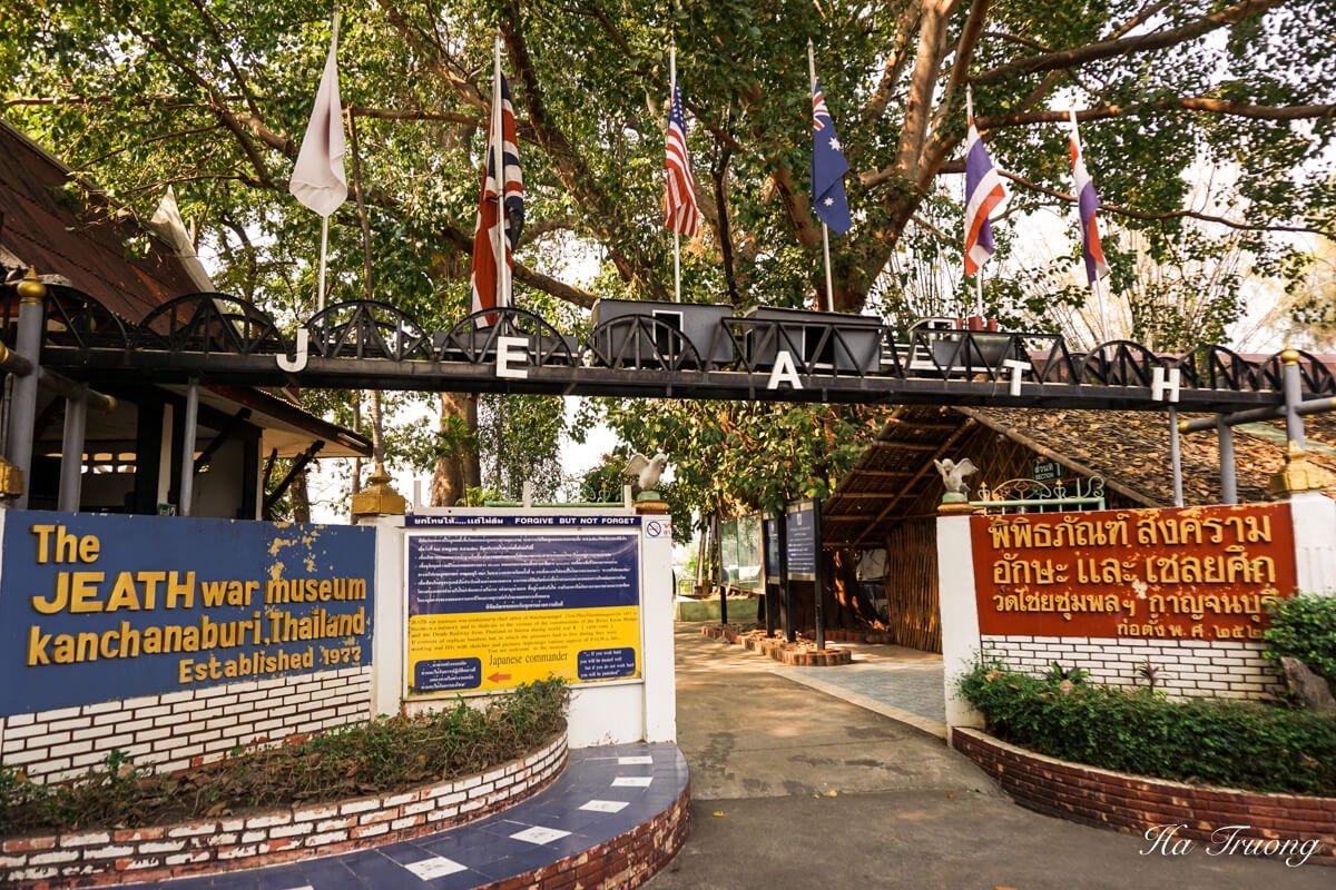 JEATH War museum Thailand